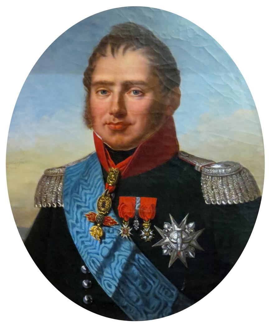 portrait du duc de Berry