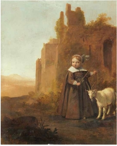 Portrait of a girl, traditionally identified as a Princess of Orange