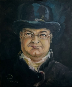 Portrait of a man in a hat