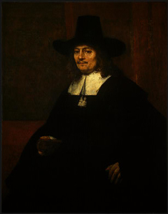 Portrait of a Man in a Tall Hat