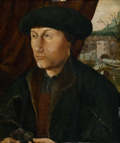 Portrait of a Man with Rosary