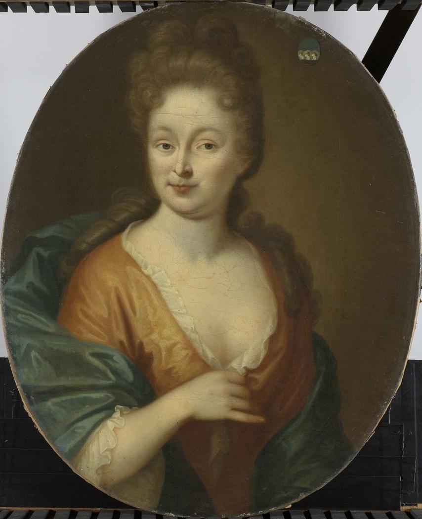 Portrait of a Woman, possibly Elisabeth Hollaer, Wife of Theodorus Rijswijk