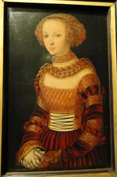 Portrait of a Young Woman. Princess Emily of Saxony?
