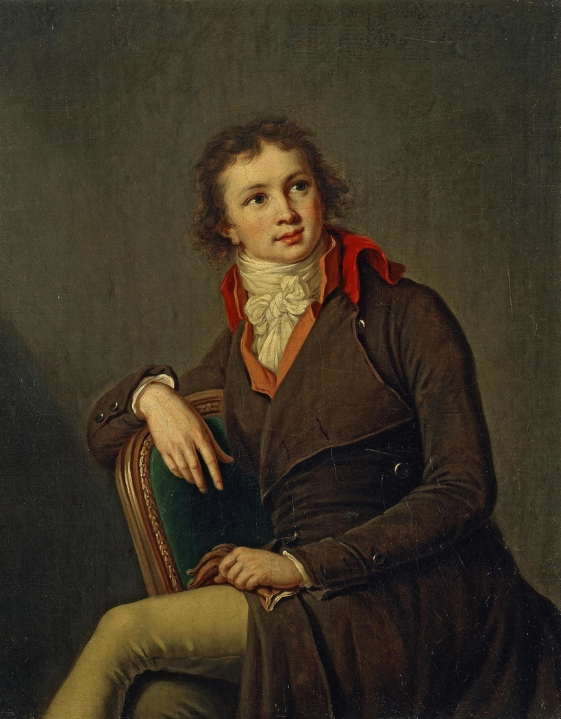 """Portrait of Count Pavel Stroganov"""