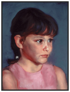 Portrait of Dorina nr1