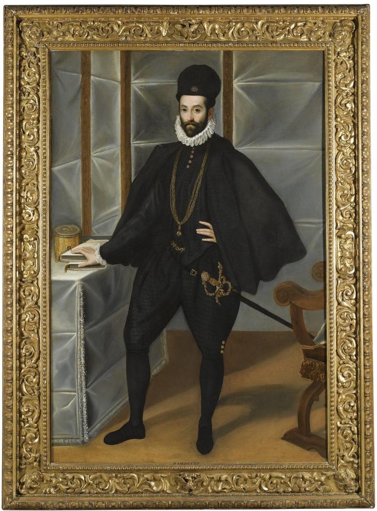 Portrait of Francesco Maria II della Rovere (1549-1631) duke of Urbino