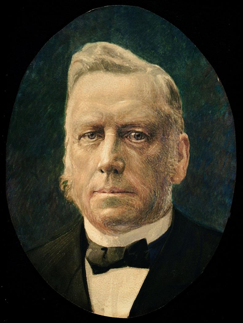 Portrait of Haakon Tveter