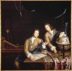 Portrait of Jan and Petrus van Musschenbroeck