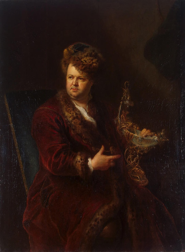 Portrait of Johann Melchior Dinglinger