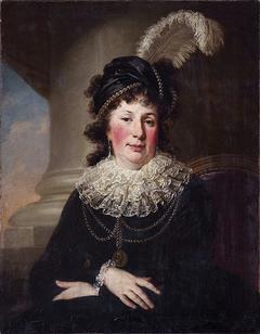 Portrait of Karolina née Sapieha 1.v.Potocka 2.v.Sołtyk