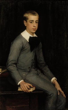 Portrait of Lieutenant Alexandre Weissgerber de Stragéwicz as a Child