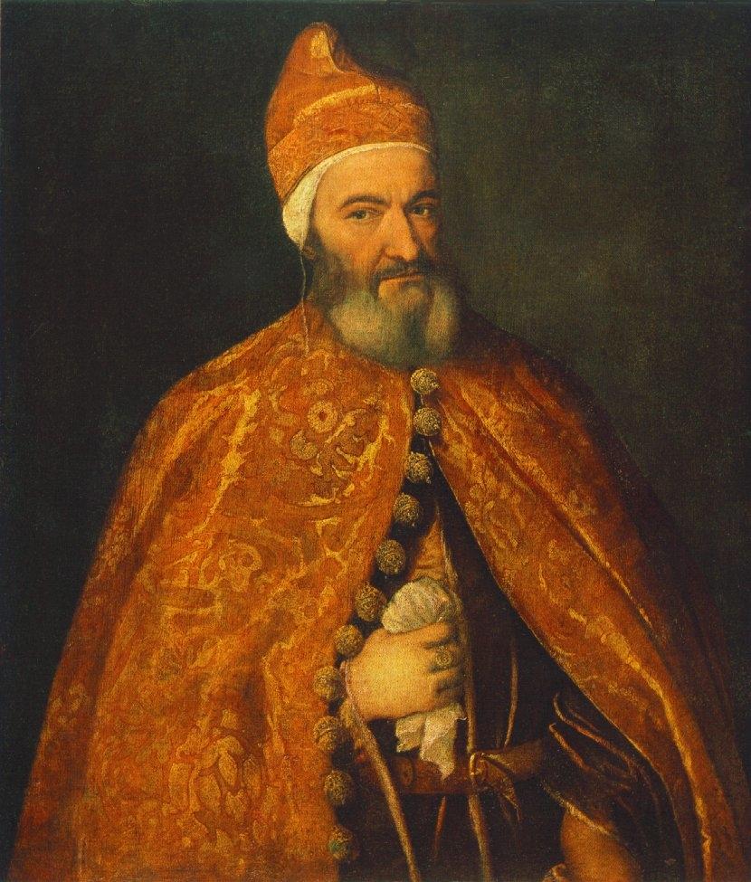 Portrait of Marcantonio Trevisan, Doge of Venice