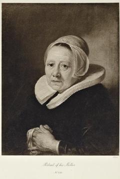 Portrait of Maria Jans, Dou's Mother