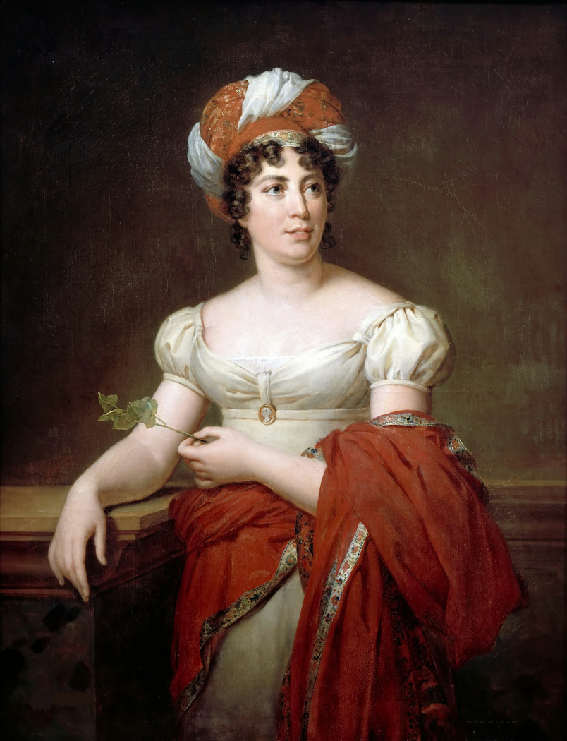 Portrait of Mme de Staël