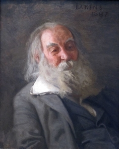 Portrait of Whitman