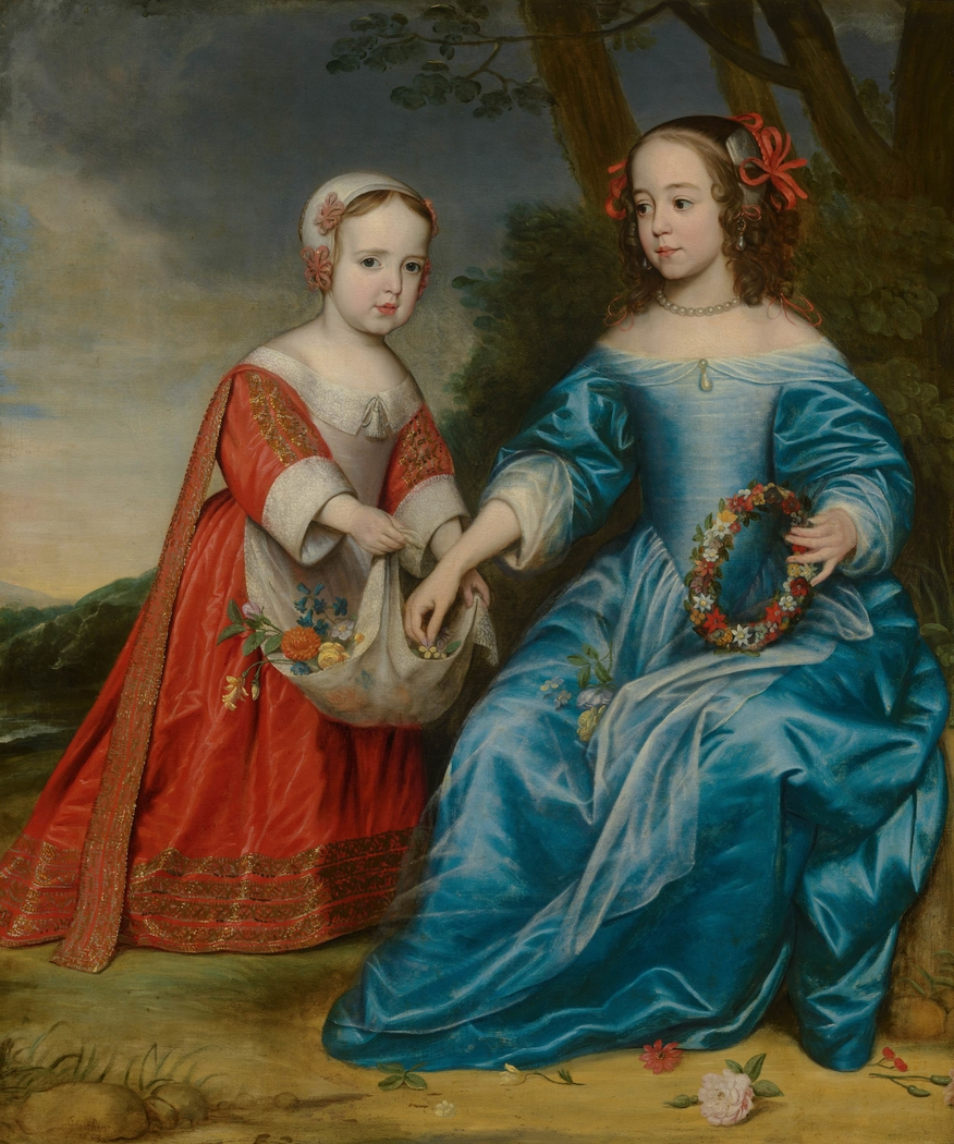 Portrait of William III, Prince of Orange, and Maria, Princess of Orange, as Children