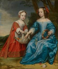 Portrait of William III, Prince of Orange, and Maria, Princess of Orange, as Children