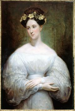 Portrait présumé de la princesse Marie d'Orléans