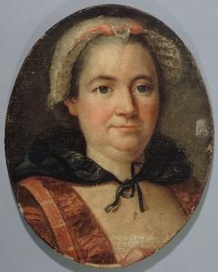 Portrait présumé de Mme de Graffigny, née Françoise d'Issembourg d'Happoncourt (1695-1758), femme de lettres