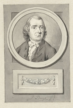Portret van Cornelis van der Burg