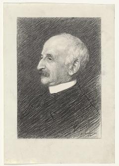 Portret van professor T.C. Asser