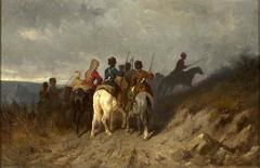 Reconnaissance by Kuban Cossacks