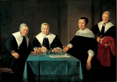 Regentesses of the Leproos-, Pest, and Dolhuis in Haarlem