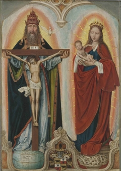 Rem-Altar: Maria mit Kind