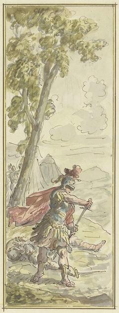 Rinaldo na het doden van de Ridder Gernard