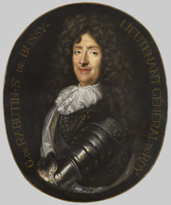 Roger de Bussy-Rabutin en armure de lieutenant-général du roi