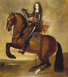 Ruiterportret van Willem II (1626-1650), prins van Oranje