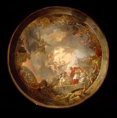 Saint Carlo Borromeo Attending to the Plague Victims