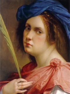 Self-Portrait as a Female Martyr