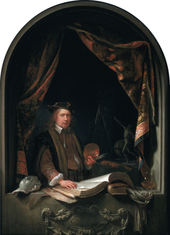Self-portrait of Gerard Dou