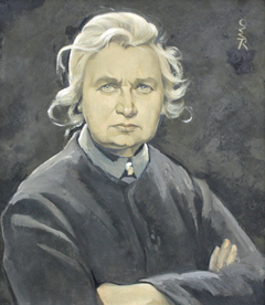 Self-portrait with Folded Arms