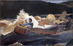 Shooting the Rapids, Saguenay River