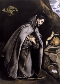 St. Francis Venerating the Crucifix
