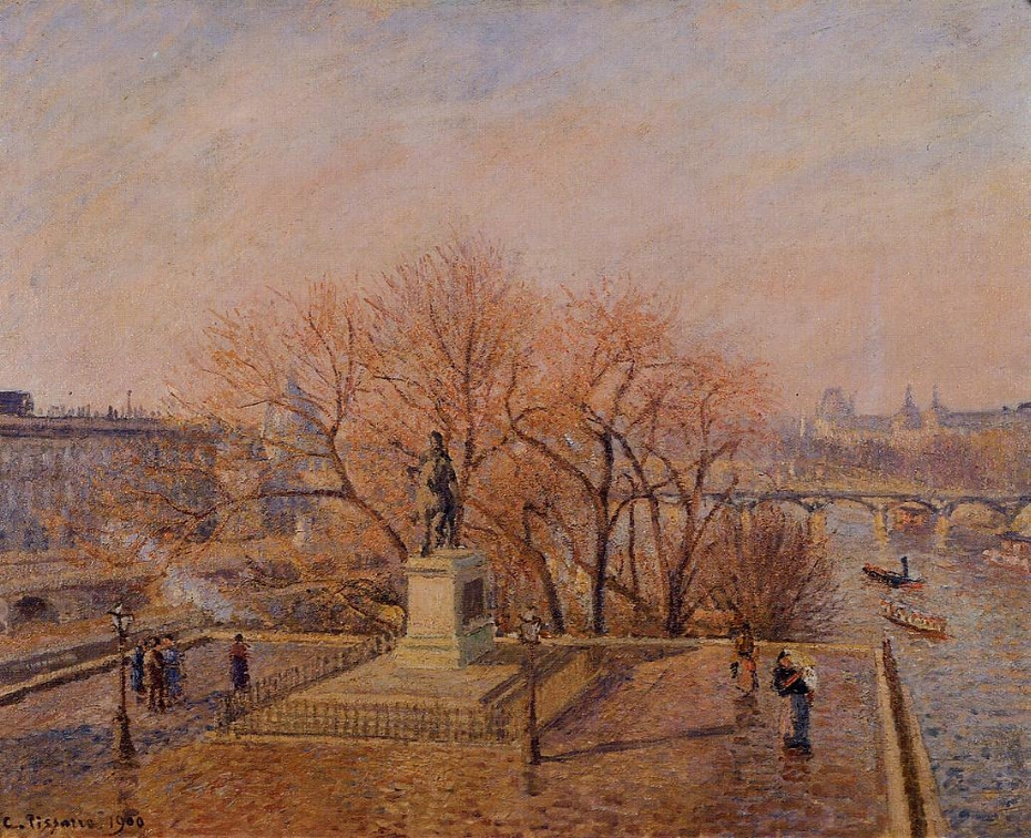 Statue of Henri-IV, Morning, Winter Sunlight (First Series)