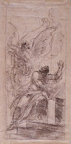 "Study for ""Abraham Offering up Isaac"""