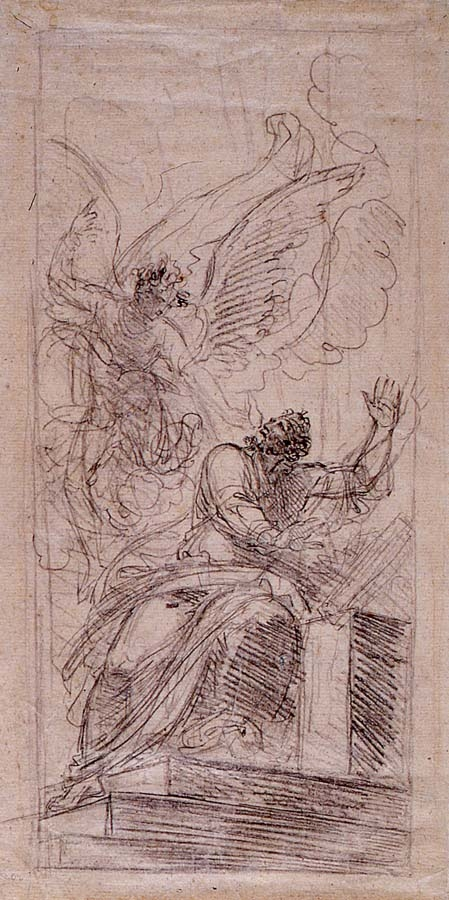"""Study for """"Abraham Offering up Isaac"""""""