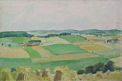 """Study for """"Wisconsin Landscape"""""""
