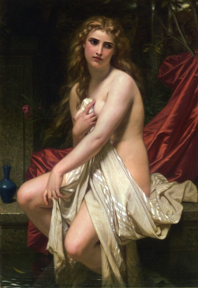Susannah at Her Bath