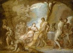Telemachus on Calypso's Island