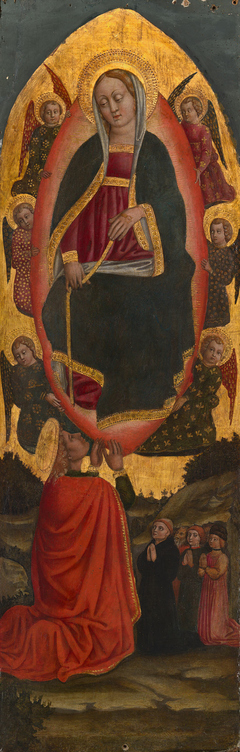 The Assumption of the Virgin with Saints from an Augustinian altarpiece