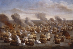 The Battle of the Texel (Kijkduin), 21 August 1673