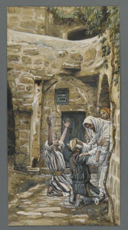The Blind of Capernaum