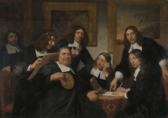The Governors of the Guild of St Luke, Haarlem, 1675