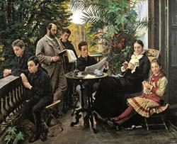 The Hirschsprung family portrait
