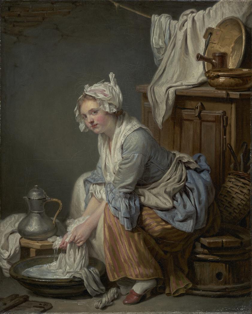 The Laundress (La Blanchisseuse)