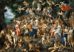The Nuptials of Thetis and Peleus